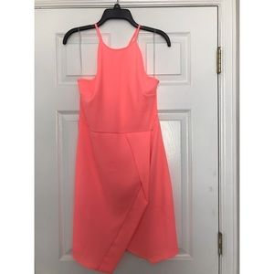 Neon pink Everly dress